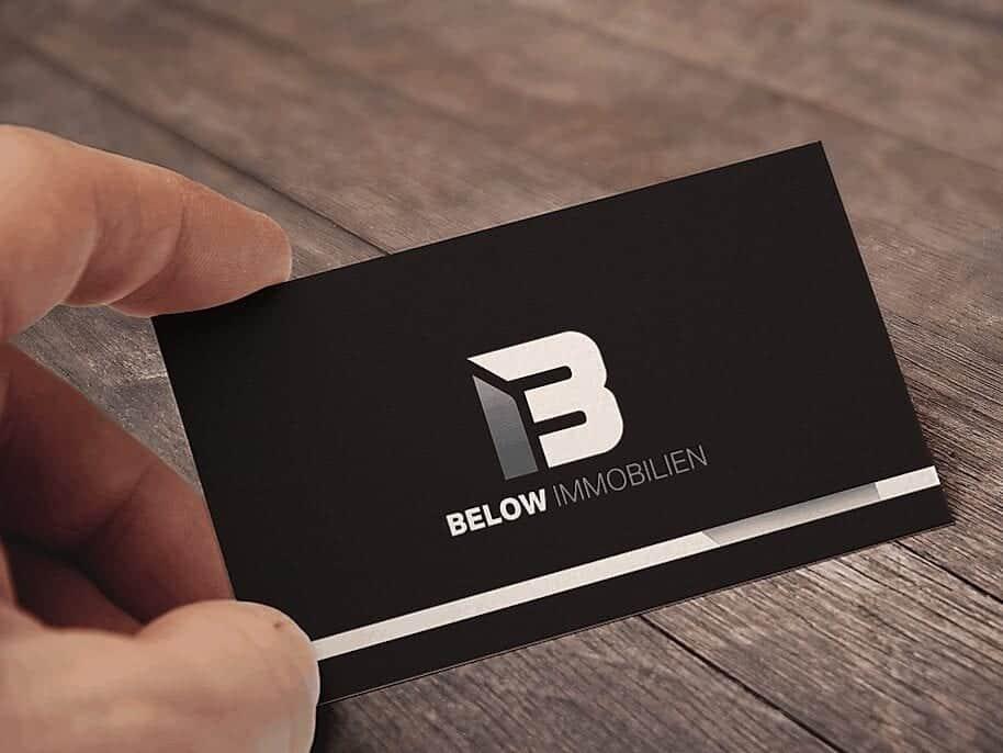 Below Immobilien - Logo Easy
